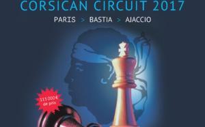 Corsican Circuit: Bastia du 21 au 27 octobre, Aiacciu le 29 octobre