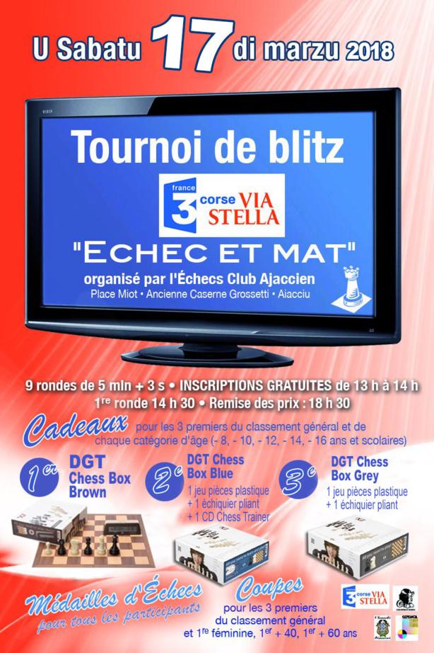 """Blitz """"Via Stella Echec et Mat"""" u sabatu 17 di Marzu"""