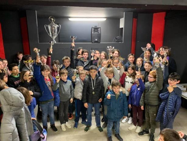 Qualificatifs pour le championnat de Corse jeunes 2019