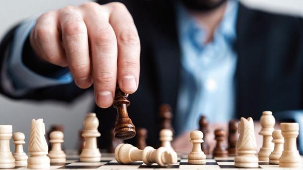 La passion des échecs, même  à la maison!