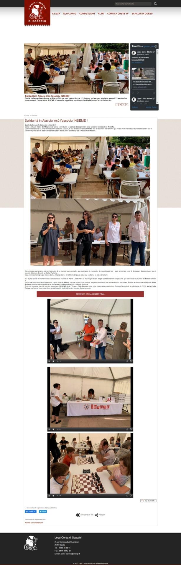 1er tournoi ECA INSEME 25/09/2021 Place du Diamant