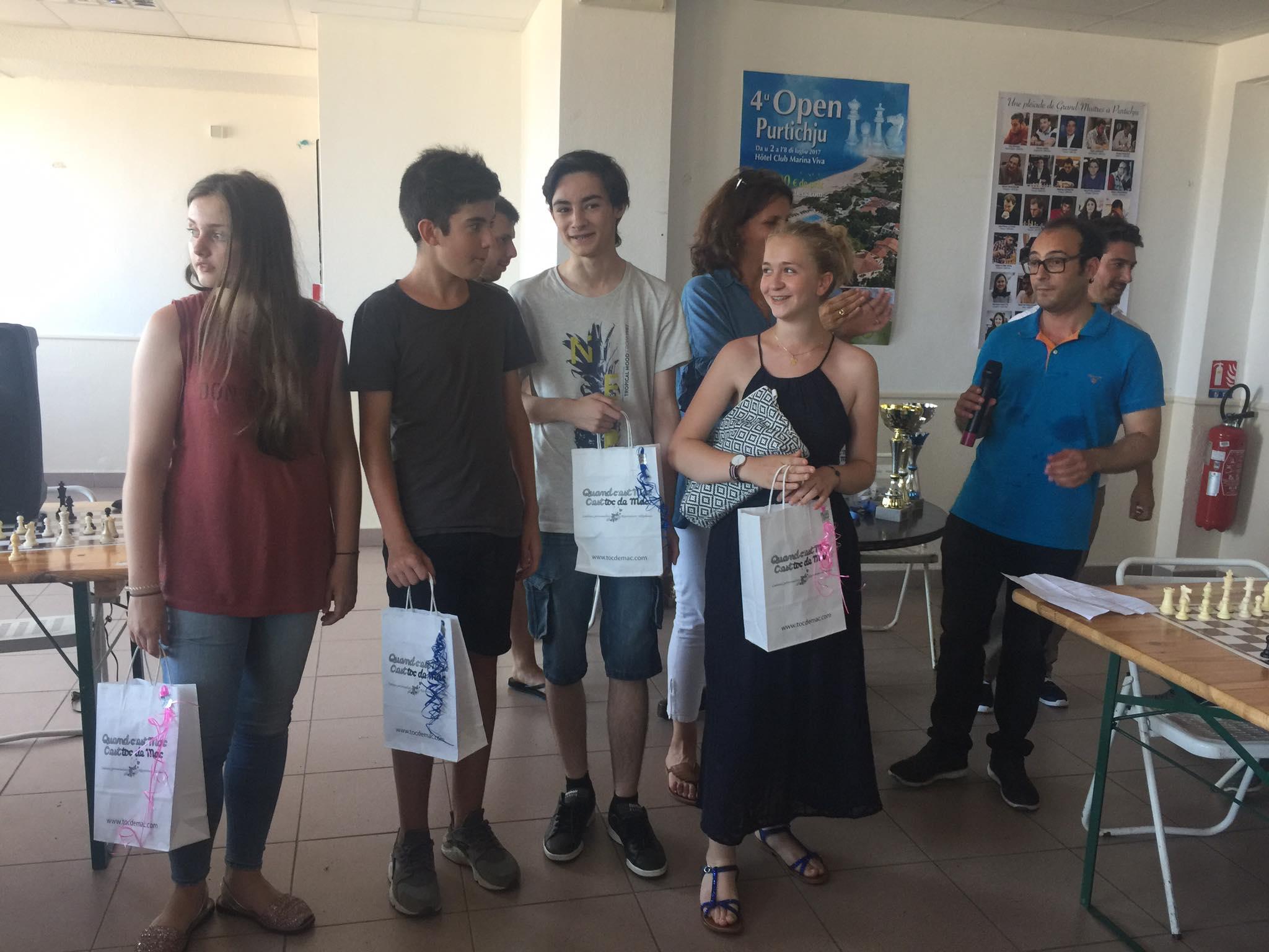 L'équipe du Collège St Paul, championne de France UNSS a été honorée.