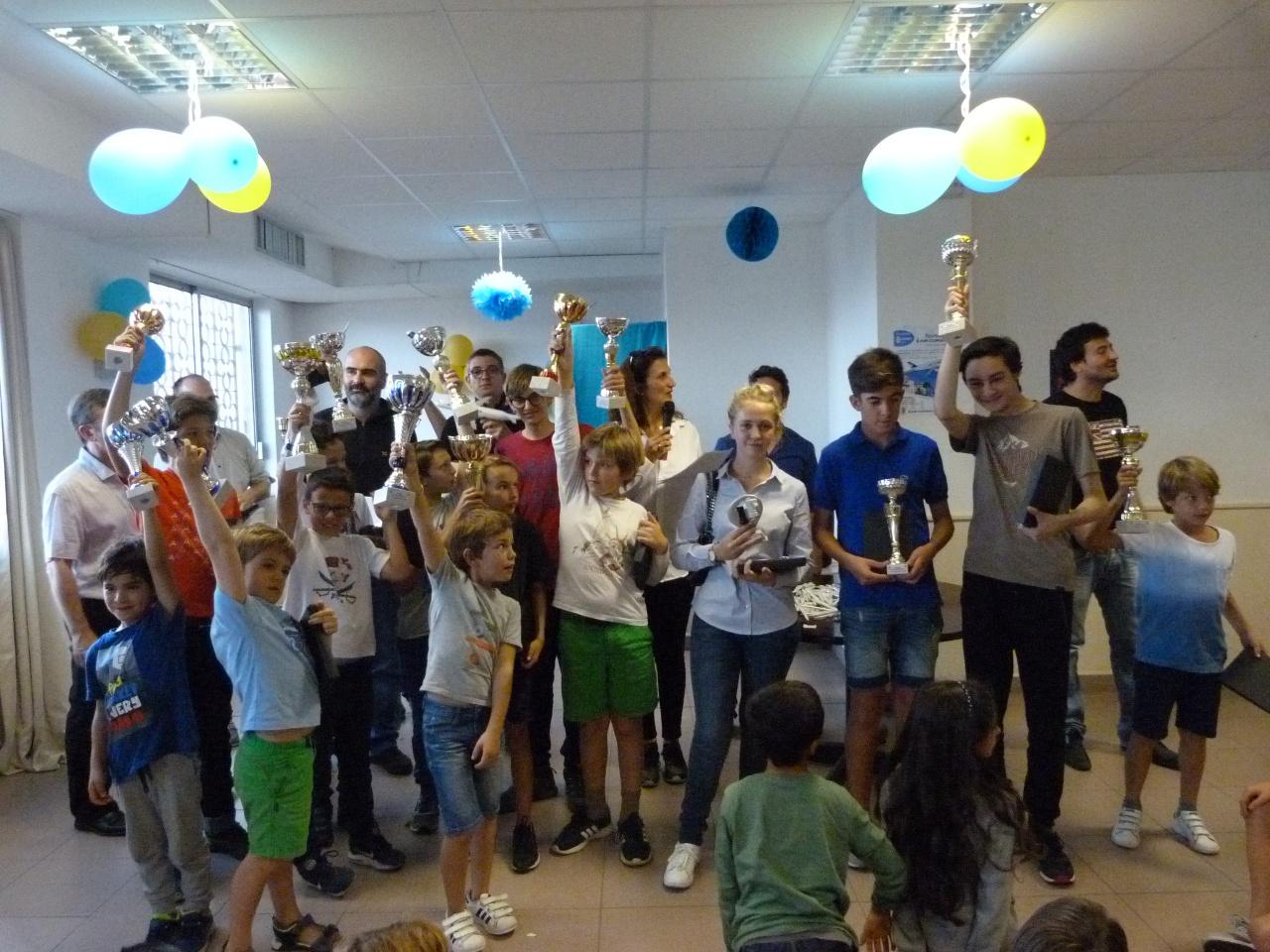 Une centaine de joueurs au blitz Air Corsica
