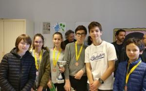 Le collège St Paul vice-champion de Corse UNSS, le Fesch 3ème