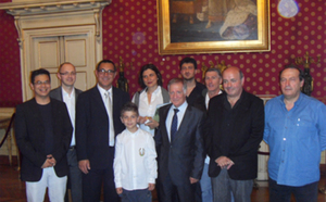 Albert Tomasi honoré par la mairie d'Ajaccio