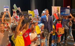 Victoire de Baptiste Roux au trophée BNP Paribas des jeunes d'Aiacciu, Laurent Fressinet impérial!