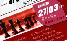 """Un championnat par équipe réservé uniquement aux jeunes ! Inscrivez-vous dans l'équipe """"I Scacchi Aiaccini"""" pour représenter le club ! Pour cela cliquez sur le lien suivant:https://www.corse-echecs.com/Campiunatu-di-Corsica-Giovani-di-e-squadre-in-linea-u-27-di-marzu_a3633.html"""